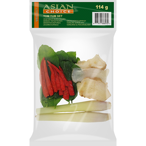 Asian Choice Vegetables Tom Yum Set 114g