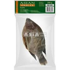 Asian Choice Tilapia G&S IWP 5/800 1kg