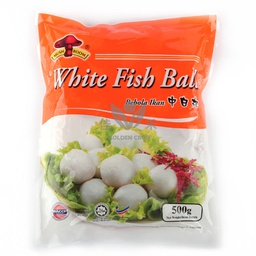 [FZ] Mushroom White Fish Ball - Medium 500g